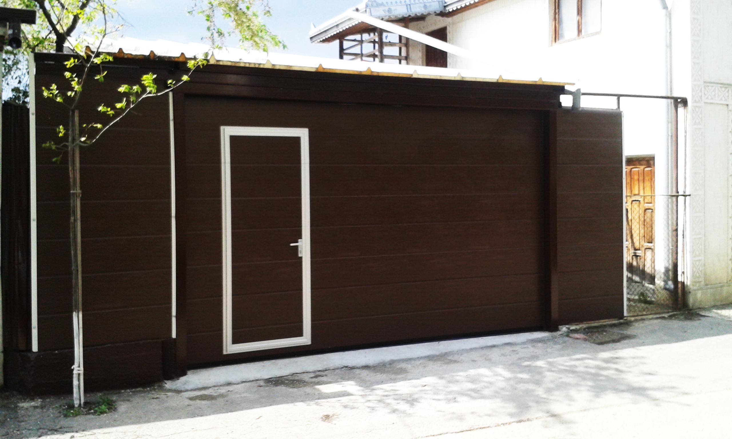 usa de garaj moderna