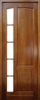 usa interior din lemn